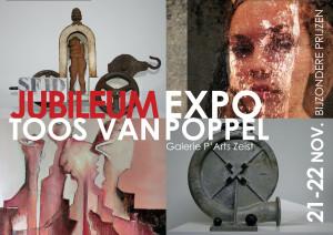 Toos van Poppel jubileum uitnodiging