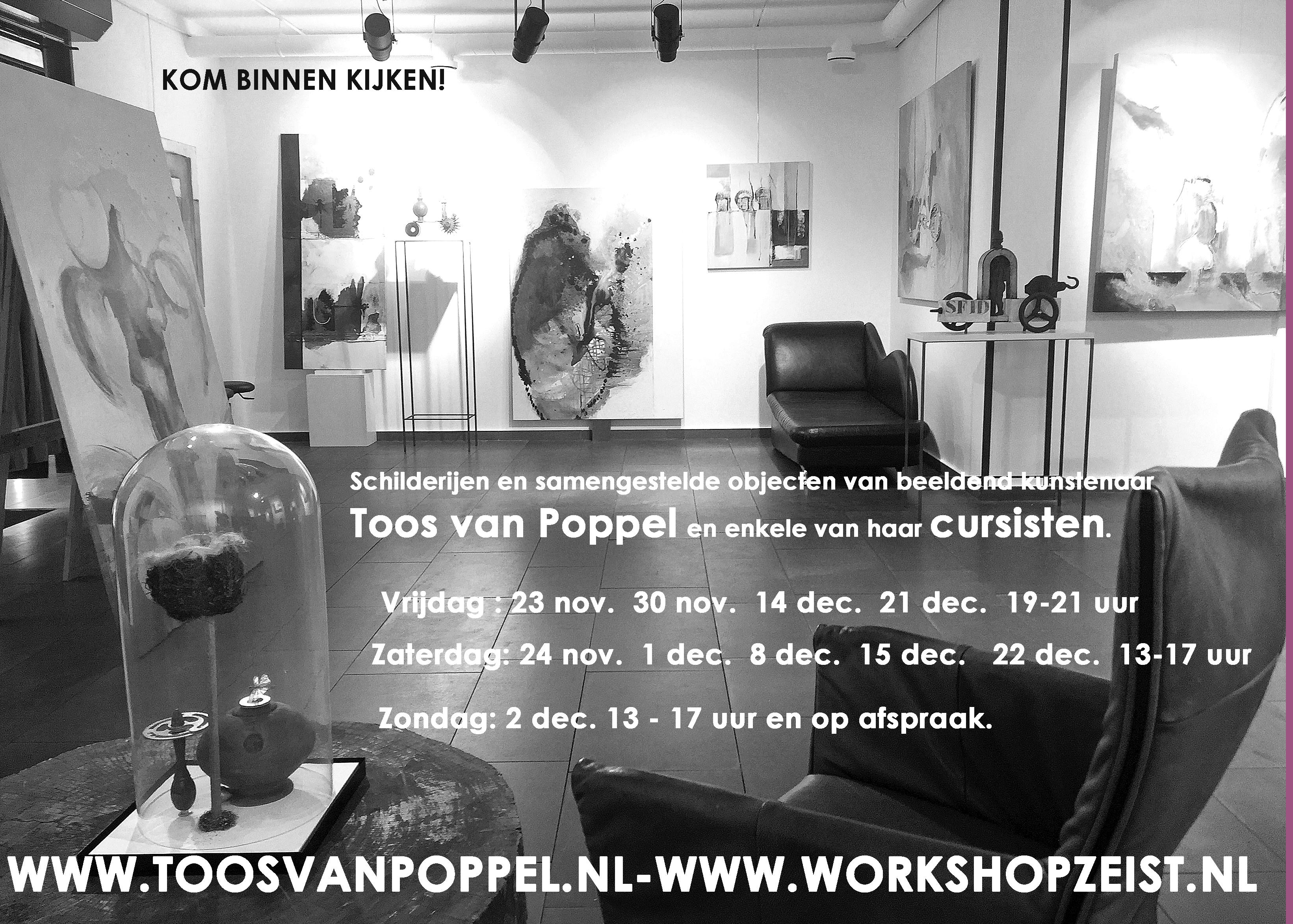 Toos van Poppel poppel up store